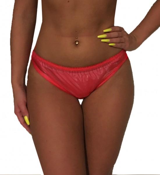 PVC-Slip Damen (Rot)
