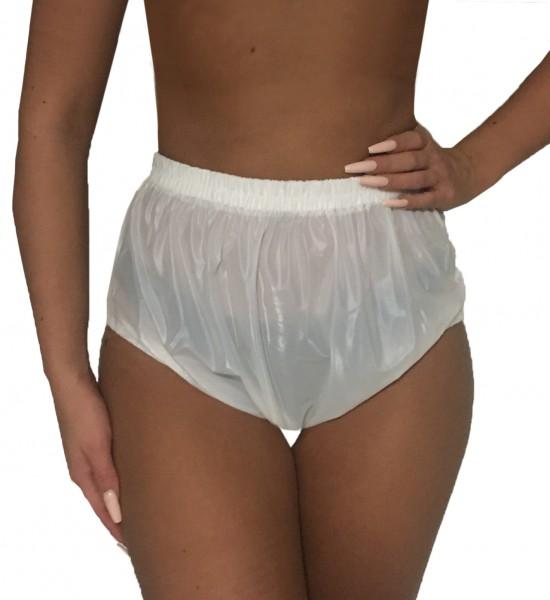 PVC-Windelhose (Weiß), genäht