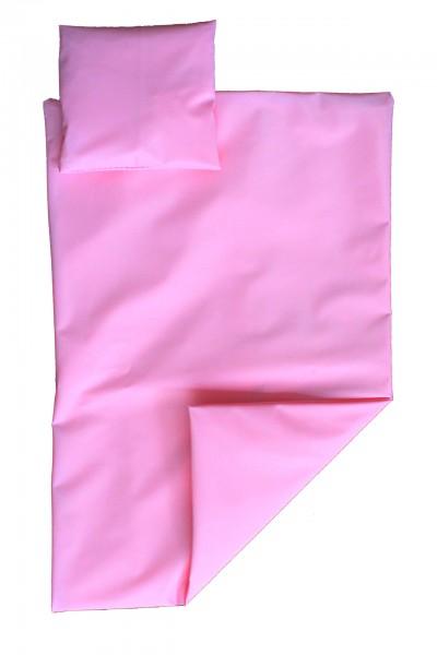 PVC-Bettgarnitur 135x200 cm (Pink)