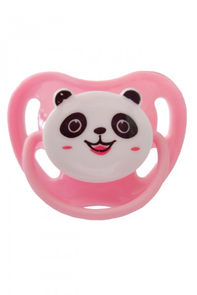 "Adult Baby Soother ""Panda"" (Rose)"
