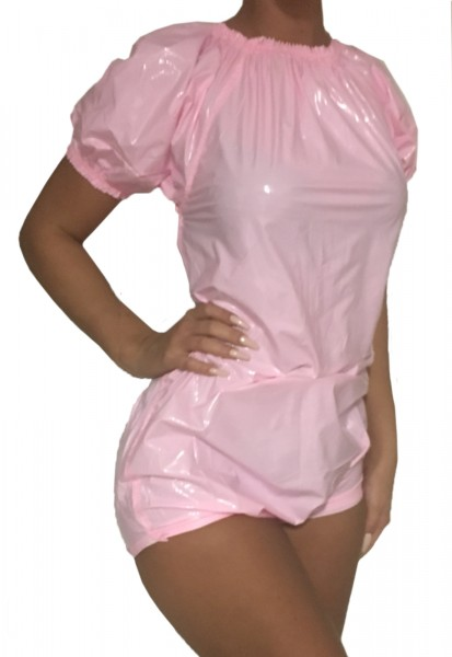 PVC-Babybody (pink / lacquer)