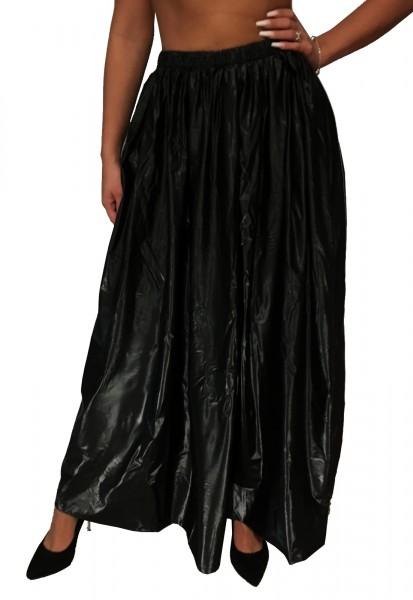 PVC skirt (black)