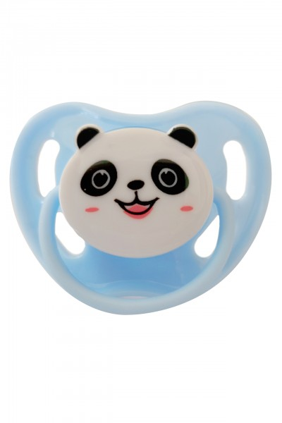 "Adult Baby Soother ""Panda"" (Light Blue)"