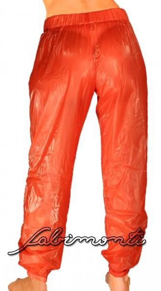 PVC-Jogginghose (Rot)
