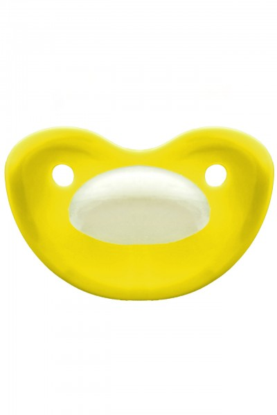 "Adult Baby Soother ""extra large"" (yellow)"
