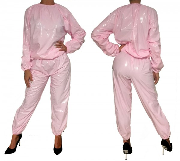 PVC-Overall (pink / laquer)