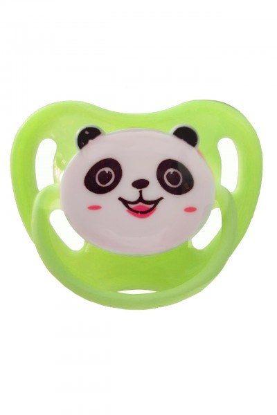 "Adult Baby Soother ""Panda"" (Green)"