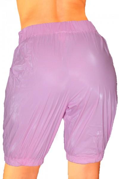 PVC-Jogginghose Knielang (Pink)