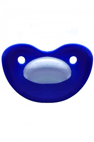 "Adult Baby Soother ""extra large"" (ultramarine blue)"