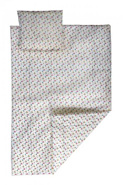 PVC-Bettgarnitur 135x200 cm (Druck)
