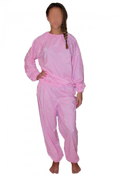 PVC-Anzug (Pink)