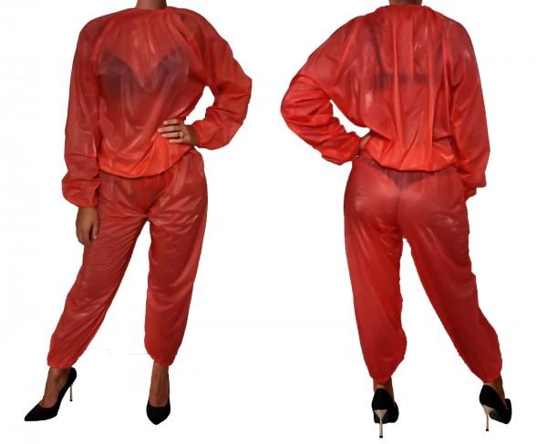 PVC-Anzug - rot