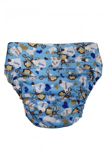 Waschbare Windelhose für Erwachsene (Hellblau)