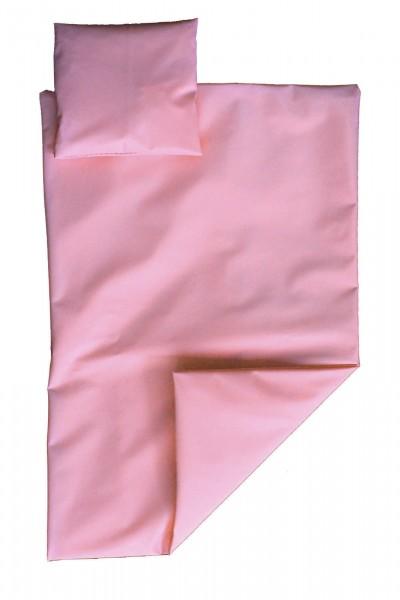 PVC-Bettwäsche-Set 135x200 cm (Pink)