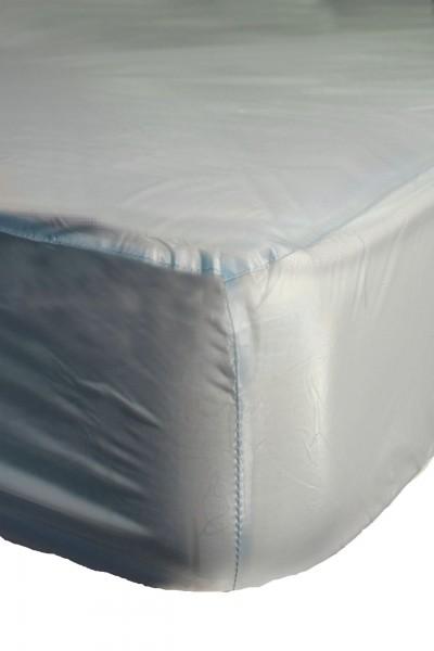 PVC-Bettlaken 100x200x30 cm (Hellblau)