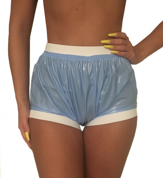 Incontinence briefs (light blue / lacquer)
