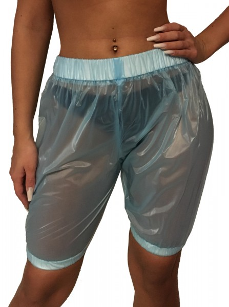PVC pants knee length (light blue)