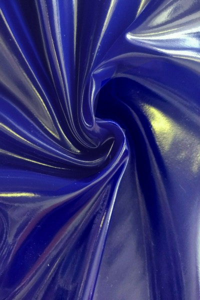 PVC-Folie 0,16mm (Ultramarinblau / Lack)