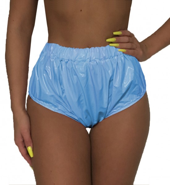 Fully Welded Incontinence Pants (Light Blue / Lacquer)