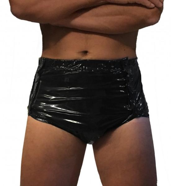 PVC- Sweden pants (Black / Lacquer)