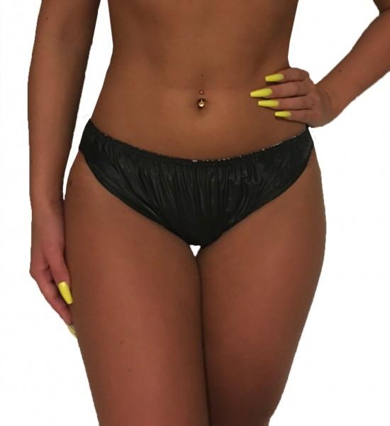 PVC protective trousers women (black)