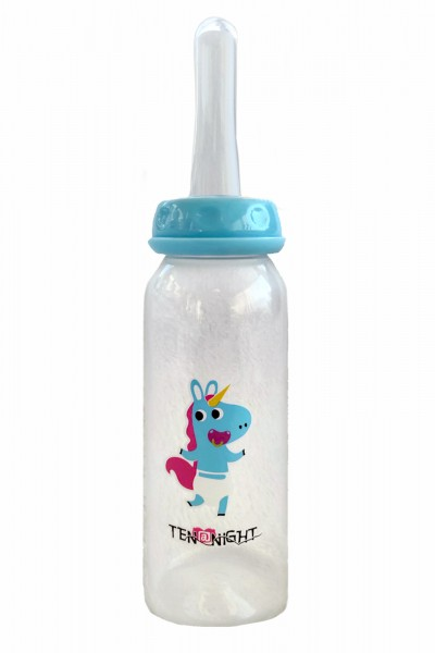 Nipple Bottle Pressure Adult Silicone Sucker XXL (Blue)
